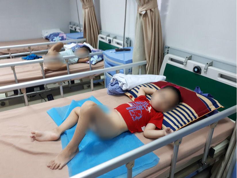 Vị cứu tinh của các bé bị sùi mào gà ở Hưng Yên